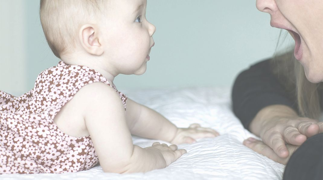Baby signs and language