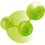 green-molecules-icon