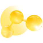 yellow-molecules-icon