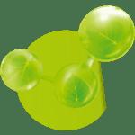 green-molecules-icon